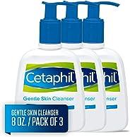 Cetaphil 丝塔芙 温和洁面,8.0盎司(237毫升)/瓶(3件装)
