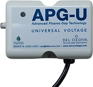 QCA Spas Del Ozone APG-U-01 Ozonator Hot Tub Ozone Generator,20.32 x 20.32 厘米,奶油色