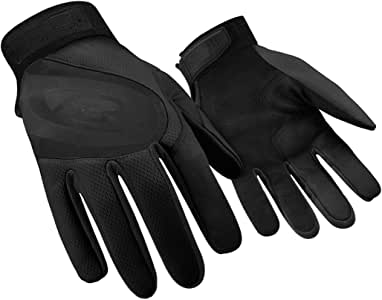 Ringers Gloves R-133 Turbo Plus Black, Essential Hand Protection, Velcro Secure Cuff Closure, XX-Small