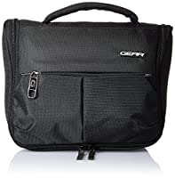 GEAR Polyester Black Toiletry Pouch (ACCTLTPCH0112)
