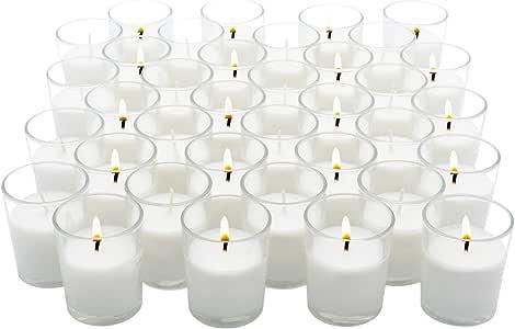 皇家进口蜡烛台玻璃烛台婚礼、生日、假日和家庭装饰用蜡填充 透明 Shot Glass SGV01F-72