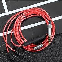 OFC 升级音频电缆 适用于 Sennheiser IE8、IE80、IE8i 耳机LYSB01ET7H7DM-CMPTRACCS
