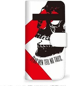MITAS 智能手机保护壳翻盖型骷髅头 C 3_Galaxy S8 (SC-02J) Samsung