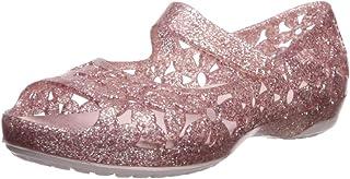 Crocs 卡骆驰儿童 Isabella 花朵平底芭蕾鞋