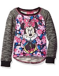Disney 女童米妮长袖套头衫