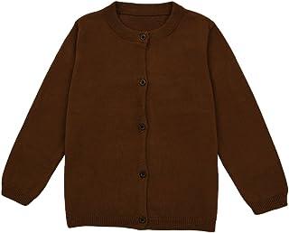 男婴女童系扣开衫幼儿针织毛衣 1-5 岁儿童