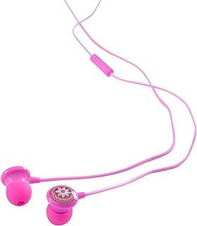 Vera Bradley 耳机带麦克风和轨道控制VR071-004-23 Ear Buds 均码