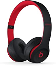 Beats Solo3 Wireless 头戴式耳机 - Beats Decade Collection - 桀骜黑红 蓝牙无线 带麦