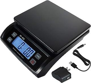 30 千克 / 60 磅数码邮政秤运输包裹包裹包裹称重多功能平衡精度,带 USB AC/DC 适配器