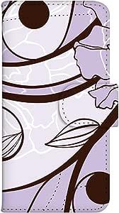 智能手机壳 手册式 对应全部机型 印刷手册 wn-505top 套 手册 和式图案 UV印刷 壳WN-PR149322-ML Galaxy Active neo SC-01H 图案F