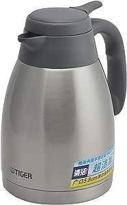 Tiger虎牌 不锈钢便携式热水瓶PWL-A12C-TG天鹅灰1.2L