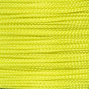 直径 0.75 毫米编织纳米线 300 英尺(约)线轴 多种颜色 霓虹黄色 300 Feet CRAFT-AWR-NANO-NEONYLLW-_MF
