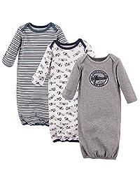 Hudson Baby 婴幼儿棉质礼服3个装