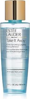Estee Lauder Take It Away 温和眼部和唇部长效卸妆液,3.4 盎司 单瓶装