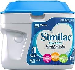 美版雅培 Similac 成长发育1段婴幼儿奶粉 23.2盎司(658g) 包税【跨境自营】