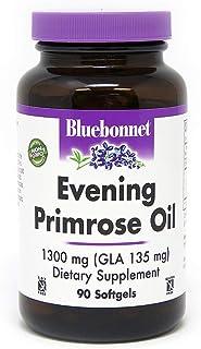 BlueBonnet Evening Primrose Oil Softgels, 1300 mg, 90 Count