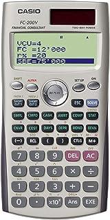 Casio FC-200V 财务计算器,4线显示