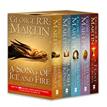 A Game of Thrones: The Story Continues: A Song of Ice and Fire: volumes 1-4 (A Game of Thrones / A Clash of Kings / A Storm of Swords: Steel and Snow ... Swords 2: Blood and Gold / A Feast for Crows)