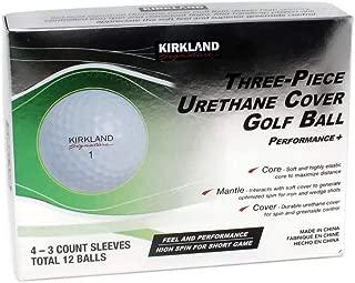 KLS 3 件式聚氨酯高尔夫球套,1 打