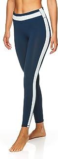 GAIAM 女式 OM yoga 性能压缩全长氨纶长裤