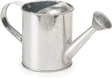 批量购买:Darice DIY 工艺品浇水罐金属 7.5 个喷嘴手柄x 3 宽 x 3.5 高英寸(12 个装)6547