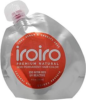 IROIRO 高级天然半永久发色 330 霓虹红 8 oz / 236 ml