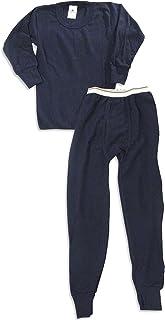 Indera 大男孩长袖保暖套装,*蓝,710ST 27477-L 码