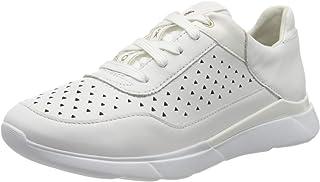 Geox 女式 D Hiver B 低帮运动鞋