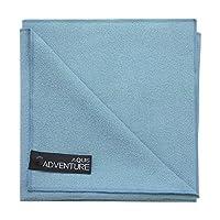 AQUIS - Adventure 超细纤维运动毛巾,快干舒适,适合健身、旅行或露营 大