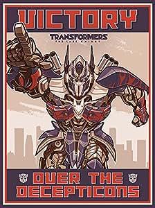 Transformers The Last Knight Victory 油画印刷品,多色,60 x 80 cm