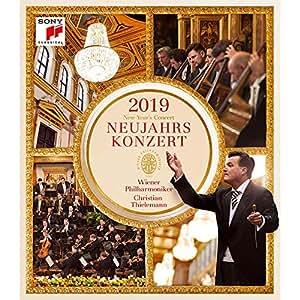 预售【中图】2019年维也纳新年音乐会 蓝光BD 蒂勒曼指挥