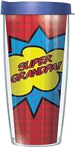 Super Grandpa *英雄漫画外观旅行杯带盖子 多种颜色 22盎司 43216-174273