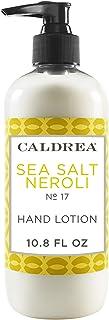 Caldrea 10.8 盎司海盐 Neroli 手液泵瓶 海盐橙花油