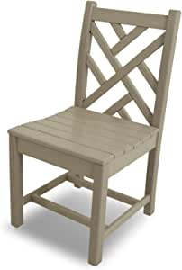 "POLYWOOD Chippendale 户外餐椅 21.75"" L x 17"" W x 34.75"" H * CDD100SA"