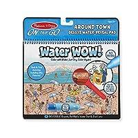 Melissa & Doug 便携式水魔! 可重复使用的水透豪华活动垫 - 周边小镇