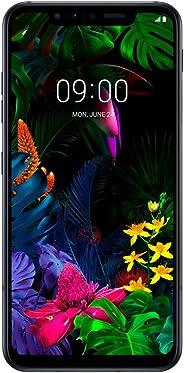 LG G8s ThinQ (128GB, 6GB RAM) 6.21 英寸 OLED 显示屏,Snapdragon 855,GSM 工厂解锁 - 美国 + 全球 4G LTE 国际型号 Mirror Black (Single SIM)
