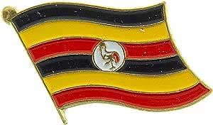 Uganda Flag Patch and Pin 别针 IFPP001