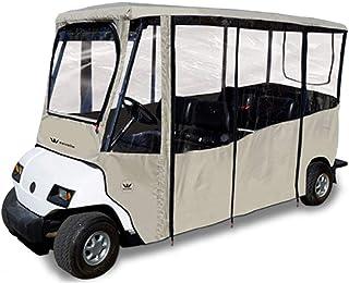 Eevelle Greenline 可驾驶 6 名乘客高尔夫球车 Enclosure Club Car 2018+