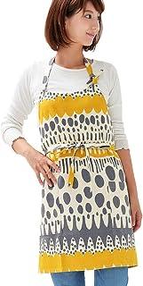 日本制造 工作 圍裙 短款 香草 中黃色 1178_ye-ye