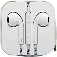 Viken维肯 VE-202 苹果有线耳机 iPhone6s线控耳机 iphone se耳机 iPhone6线控 入耳式 带麦克风耳机 适用苹果手机 白色