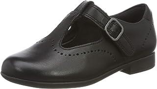 Clarks Scala Seek K 女童版扣带芭蕾舞鞋