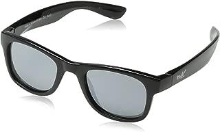 RKS 美国 防紫外线男童女童宝宝儿童太阳镜 建议2岁以上(海浪)黑色