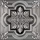 206ac-24x24-25 大号雪花天花板砖,古铜色,25 古银色 206as-24x24-25