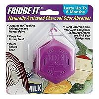 Fridge-It Cube,天然活性炭*剂,冰箱*剂,不含香料,可持续6个月 紫色 1包 01994-HIC