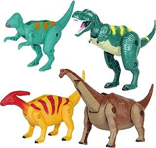 Ziyier G&E:4 件装变形恐龙蛋玩具套装