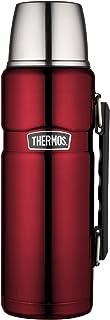 THERMOS 膳魔师 Stainless King 40盎司/约1182.8 毫升 饮料水壶 蔓越莓红色