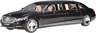 AUTOart 1/18 Mercedes-Maybach S600 Pullman 深红色·金属成品