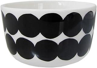 Marimekko marimekko 斑点 Siirtolapuutarha 迷你碗 白色 黑色 200ml 67266 190 【平行进口商品】 67266 190