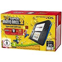 Nintendo 2DS – 游戏机, Schwarz;Blau