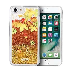 SumacLife 保护,闪耀瀑布皮肤,适用于 Apple iPhone 7 Plus 或 iPhone 8 PlusAPLSKN814 Orange Autumn Leaves 橙色